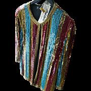SALE Vintage sequin Jacket