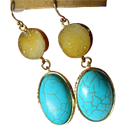Lovely gold plated Earrings