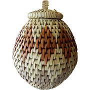 "Hand woven- ""Zulu"" South African herb Basket"