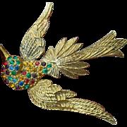 Beautiful soaring Bird pin