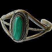 Malachite-sterling Bracelet