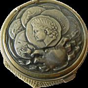 Wonderful-Vintage crocheted coin holder