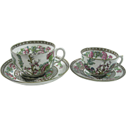 Coalport His and Her's set  Mustache/Moustache Cup and Saucer