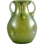 Loetz Three-Handled Vase