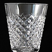 """SOLD Waterford """"Alana"""" Pattern Crystal Goblets"""