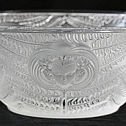 "Lalique ""Psyche"" Pattern Crystal Bowl"