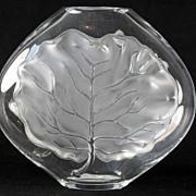 """SOLD Large Lalique """"San Juan"""" Crystal Vase"""