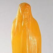 Amalric Walter Pate de Verre Figurine by Finot