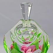 SOLD Kosta Paperweight Perfume Bottle by Jan-Erik Ritzman