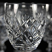 "Waterford ""Donegal"" Water Goblets"