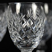 """Waterford """"Donegal"""" White Wine Glasses"""