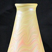 Doug Merritt Iridescent Pulled Pattern Vase