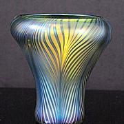 """David Lotton """"Feather"""" Vase"""