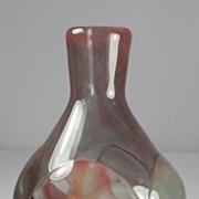 SOLD Dominick Labino Prunted Glass Vase