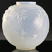 "SOLD Sabino ""Les Abeilles"" Opalescent Vase"