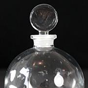 """Lalique """"Dans la Nuit"""" Worth Perfume Bottle"""