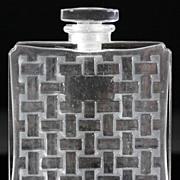 "SOLD Ren© Lalique ""Chypre"" Perfume Bottle for Houbigant"