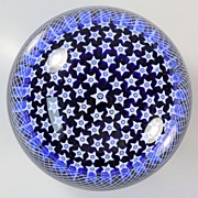 SOLD Parabelle Star Field Paperweight
