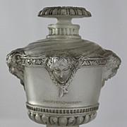 """SOLD René Lalique """"Bouquet de Faunes"""" Perfume Bottle for Guerlain"""