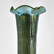 Loetz Rusticana Vase on Creta Silberisis Glass