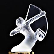 """SOLD Lalique """"Sagittaire"""" Factice Perfume Bottle"""