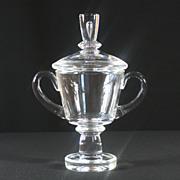 Steuben Crystal Covered Urn