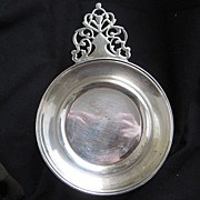 Large Size (5 inch wide) Silverplate Porringer