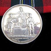 Scottish Agricultural Soc. Perchorn Gelding Medallion