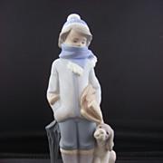 Lladro Figurine - Winter #5220