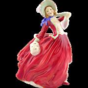 Royal Doulton  Porcelain Figurine- Autumn Breezes