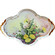 Hand Painted Vintage Limoges Plate  by Surber