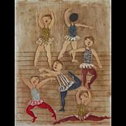 Original Aquatint by Graciela Rodo Boulanger - Ballet