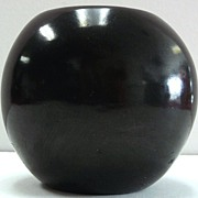 Native American Indian Black Pottery Bowl