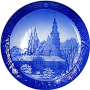 1956 Christmas Collector's Plate by Royal Copenhagen