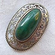 Sterling Silver Eilat Brooch/Pendant