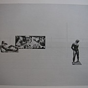 MIES VAN DER ROHE - Drawings in the Collection of the MoMA, NYC