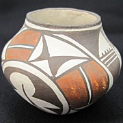 REDUCED Acoma Pueblo Seed by Rose Chino Garcia