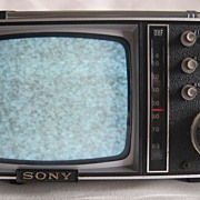 1965 Sony Micro Transistor Television