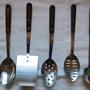 SOLD Utensils for the kitchen USA Stainless by Robinson