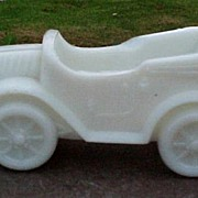 SOLD Milk Glass Automobile Roadster Touring Car Convertible
