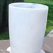 Milk Glass Frog Tumbler Water Glass