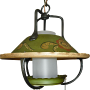 Monterey Style Lantern Pendant Light Fixture - 2 available