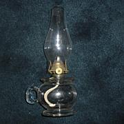Lomax Kerosene Oil Finger Lamp dated 1870