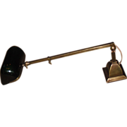 Emeralite Telescoping Desk Lamp or Wall Light
