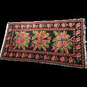SALE Vintage Mid-Century Armenian Karabagh Rug