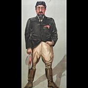 1902 Original Vanity Fair Print - Boer War / Big Game Hunter - General Christian De Wet