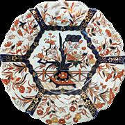 Early 19th Century Mason's Ironstone Imari Style Plate