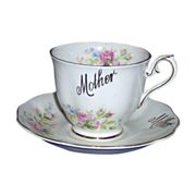 SALE Mother cup and saucer Royal Albert