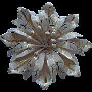 SALE Beautiful Enamel Flower Brooch
