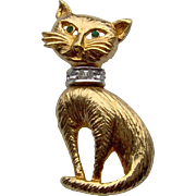 SALE Adorable Cat Brooch